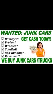 CAR BUYERS JUNK CARS WANTED