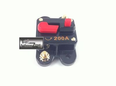 Buy New Bullz Audio BCB200A 12 Volt 12V 200 Amp Circuit Breaker & Self Test Button motorcycle in Los Angeles, California, United States, for US $11.75