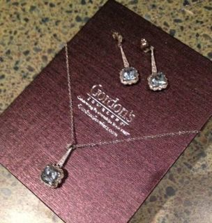 Necklace and Earrings set from Gordons
