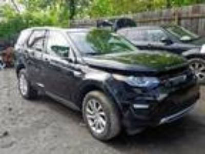 Salvage 2016 LAND ROVER DISCOVERY for Sale