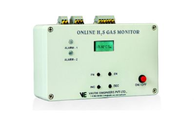 online h2s gas monitor