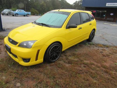 2007 Ford Focus ZX5 S (Yellow)