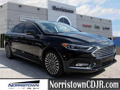 2017 Ford Fusion SE (Shadow Black)