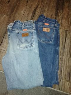 FR Wranglers Size 34/34 $30 for Both Pair