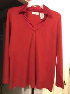 Red sweater, size 1 X