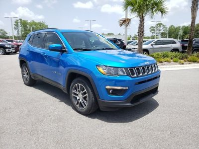 2018 Jeep Compass Latitude (Laser Blue Pearlcoat)
