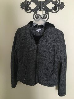 Excellent cond. size S hooded jacket Charlotte Russe