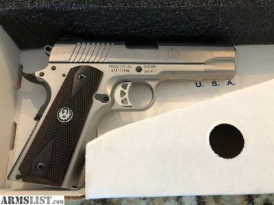 For Sale: Ruger SR1911 Brand New .45