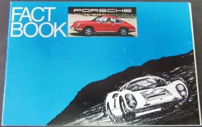 Sell 1969 Porsche Dealer Sales Brochure Fact Book 912 911 T E S Coupe Targa motorcycle in Holts Summit, Missouri, United States, for US $34.68