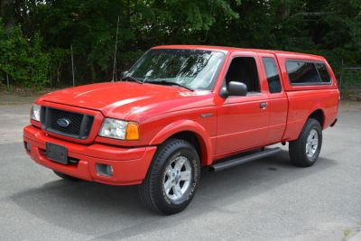 2005 Ford Ranger XLT (Toreador Red Metallic)