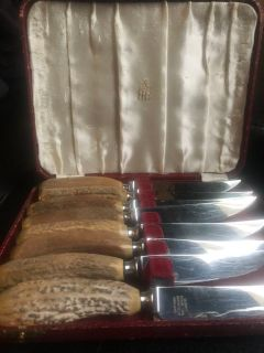 VINTAGE BIRKS Steak Knives