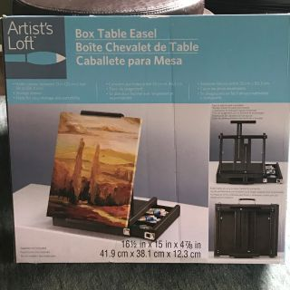 Portable Box Table Easel