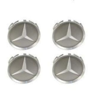 Sell Mercedes W124 W126 R129 W140 GENUINE Center Hub Cap For Alloy Wheel 7mm Set 4 motorcycle in Lake Mary, Florida, US, for US $74.69