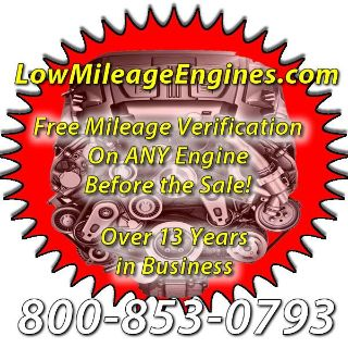 Low Mileage Engines