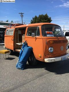1973 VW Bus Westfalia Camper