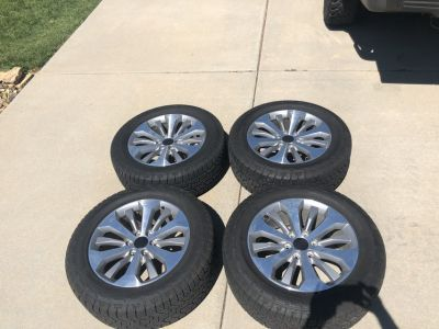 4 brand new wheels and tires!!!
