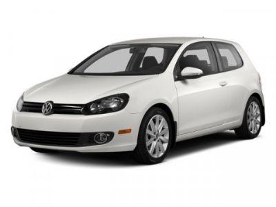2013 Volkswagen Golf TDI (Candy White)