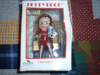 BETTY BOOP ORNAMENT/RARE
