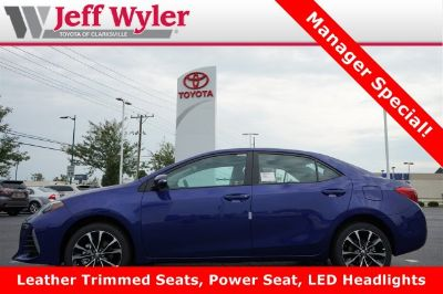 2019 Toyota Corolla L (Blue Crush Metallic)