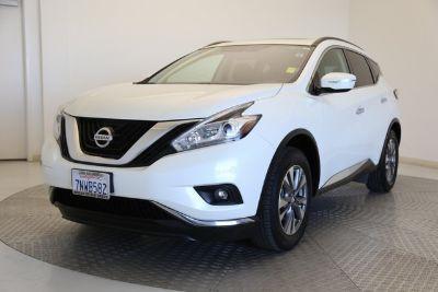 2015 Nissan Murano SV (Pearl White)
