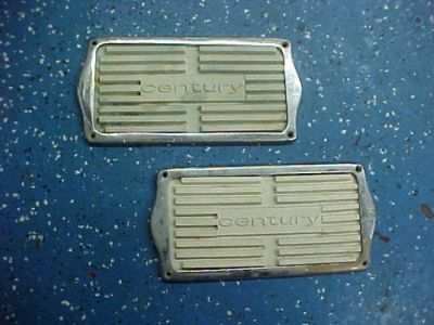 Buy Century Wood Boat Foot Pads w/ Chrome Plated Trim Rings *VINTAGE* New Old Stock motorcycle in Coldwater, Michigan, United States, for US $150.00
