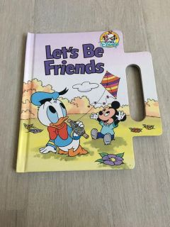 Hardback with handle book Let's Be Friends- New