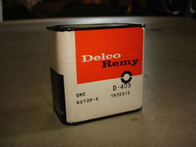 Purchase 63 64 65 66 67 68 69 NOS CORVETTE CHEVELLE CAMARO NOVA DELCO REMY D-409 ROTOR motorcycle in Louisville, Ohio, United States, for US $129.95