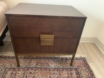 Nightstand w/2 Drawers