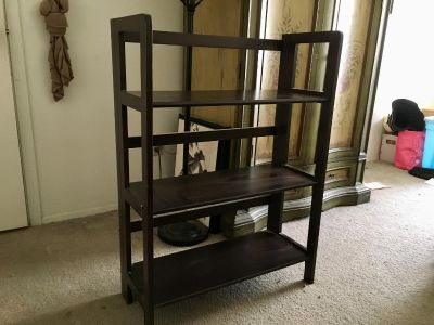 Authentic Wooden 3 Shelf Bookcase
