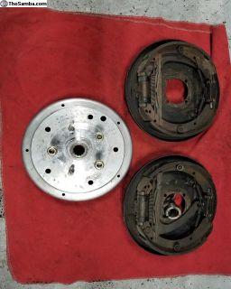 Porsche A rear brakes