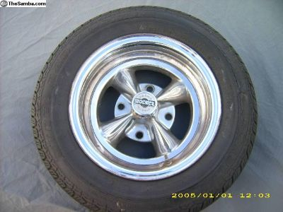 "13"" 4-bolt VW Bug ""Rocket"" Wheels"