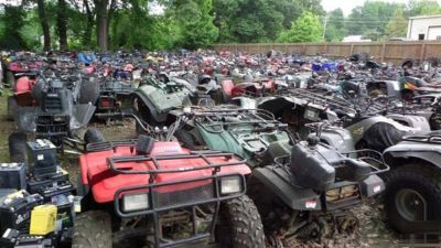 Looking for a four wheeler