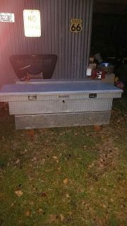Truck tank and toolbox