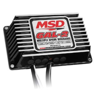 Sell MSD Ignition 64213 6AL-2 6 Series Ignition Control Box 2 Step Rev Limiter Black motorcycle in Santee, California, United States, for US $296.95