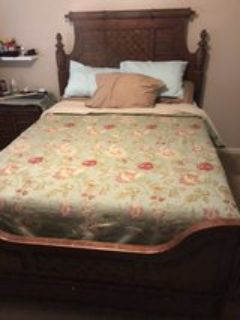 Queen Mattress set with Head and Foot Board