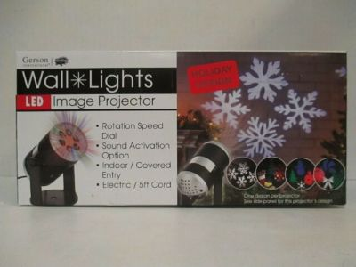 LED WALL LIGHT IMAGE PROJECTOR