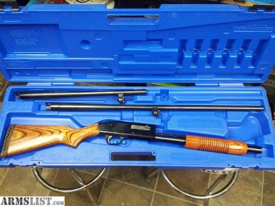 For Sale/Trade: Mossberg 500 12 ga 2 Barrel Combo