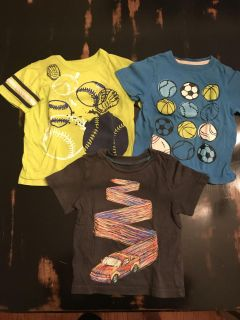 Lot of 3 Size 2T short sleeve shirts