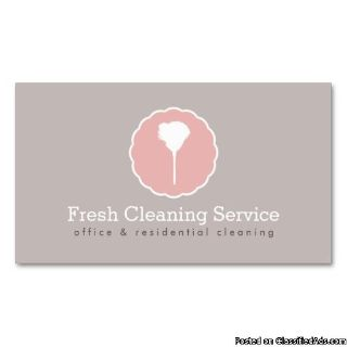 House Cleaning Family operated