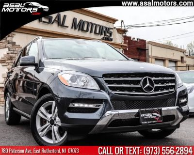 2012 Mercedes-Benz M-Class ML350 4MATIC (Steel Grey Metallic)