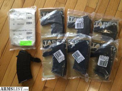 For Sale: LOT of 7x 20 Round SKS Magazines