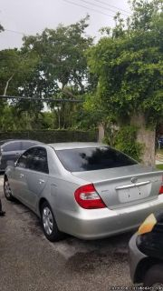 2002 TOYOTA CAMRY LE***SUNROOF***LEATHER***