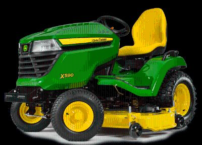2016 John Deere X590 (54 in.) Riding Mowers Lawn Mowers Littleton, NH