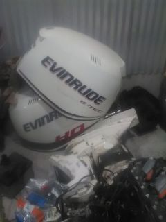 2009 and 2015 evinrude e-yec 200 HO hp