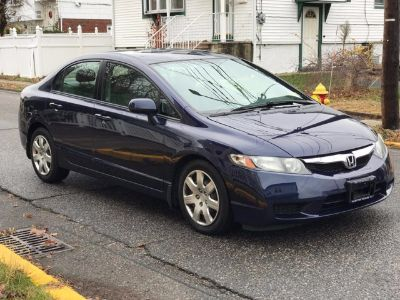 2009 Honda Civic LX (Atomic Blue Metallic)