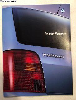 VW Passat Wagon Japanese Brochure