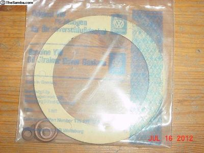 Genuine VW Oil Strainer Cover Gaskets