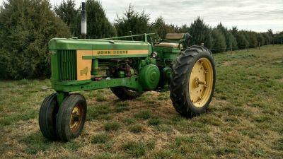 1956 John Deere 520 Row Crop Tractor