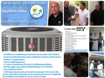 AC Not cooling? A/C Repair | AC Installation Services | FREON |