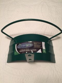 New metal wall mount garden hose hanger cross posted Hernando